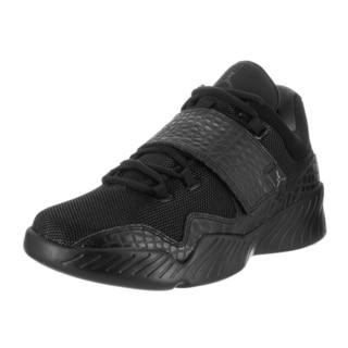 Nike Men's Jordan J23 Black Textile Casual Shoes