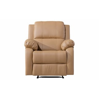 Classic Bonded Leather Oversize Recliner Chair