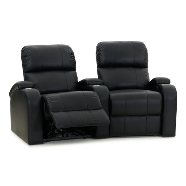 Octane Edge XL800 Manual Leather Home Theater Seating Set (Row of 2)