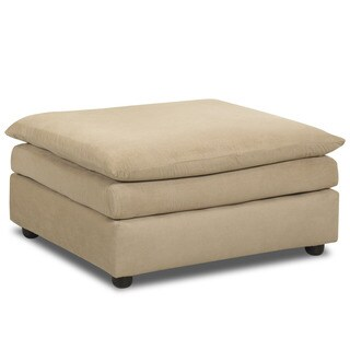 Made to Order Klaussner Furniture Heights Polyester Upholstered Ottoman