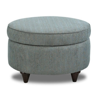 Made to Order Klaussner Furniture Orion Polyester Storage Ottoman