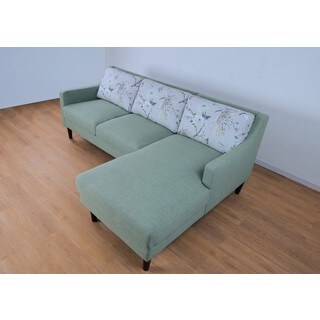 Vovo Mid Century Right Chaise L Shape Sectional