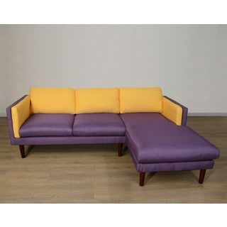 Amber Right Chaise L Shape Sofa