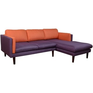 Augustine Right Chaise L Shape Sofa