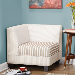 corner chairs living room. Simple Living Reston Corner Chair Makenzie  Free Shipping Today Overstock com 16356375