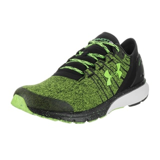 Under Armour Men's UA Team Charged Bandit 2 Black Synthetic Leather Running Shoes