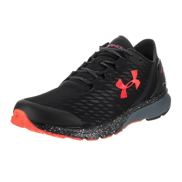 máximo polilla administrar  Under Armour Men's UA Charged Bandit 2 Night Black Textile Running Shoes -  Overstock - 13519593