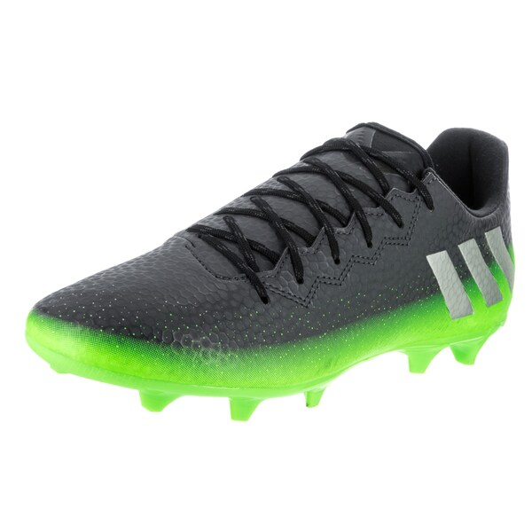 89b17ccb8 Shop Adidas Men s Messi 16.3 FG Grey Synthetic Leather Soccer Cleats ...