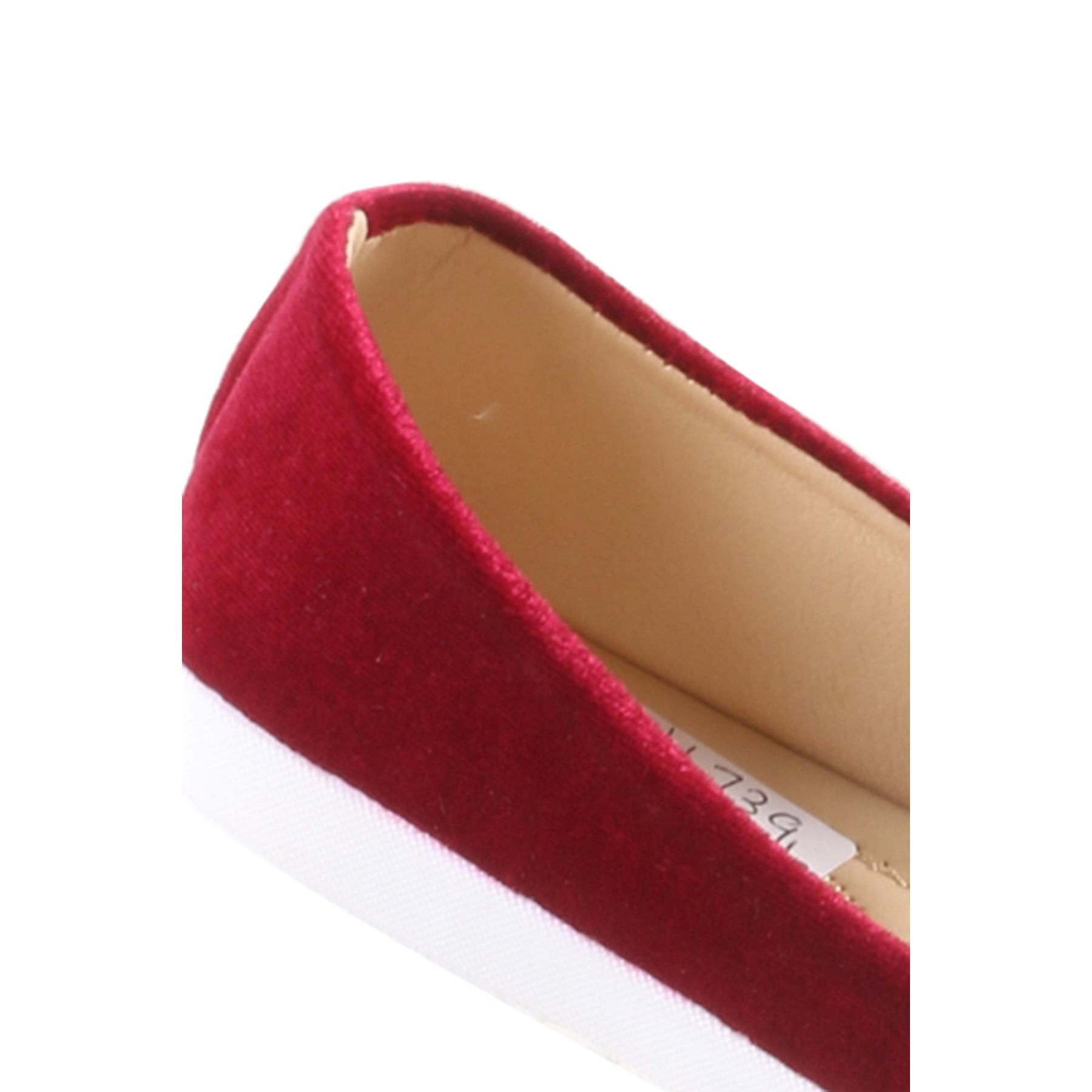 90bc7dd30 Shop Hadari Women's Casual Fashion Slip On Burgundy Pom Pom Flat Shoes - On  Sale - Free Shipping On Orders Over $45 - Overstock.com - 13519856