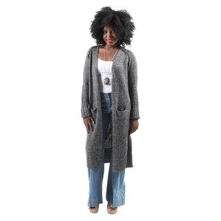 Hadari Women's Casual Fashion Long Open Front Lightweight Cardigan Sweater