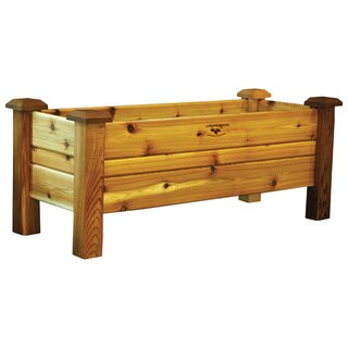 Tungsten Oil-finish Western Red Cedar Planter Box