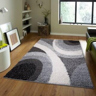 Home Dynamix Synergy Collection Contemporary Shag Area Rug (7'8 x 10'4)
