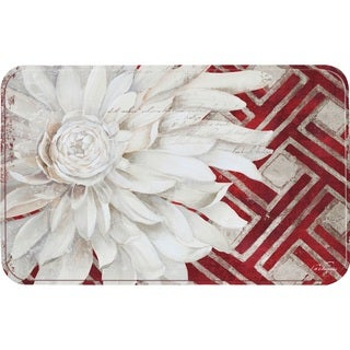 "Home Dynamix Calm Chef Collection Anti-Fatigue Multicolor Kitchen Mat (19.6"" x 31.5"")"