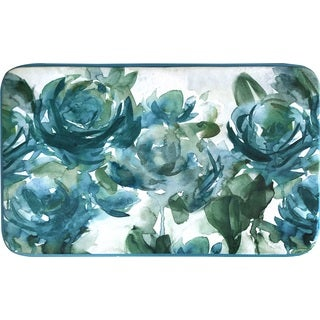 "Home Dynamix Designer Chef Collection Anti-Fatigue Blue Kitchen Mat ( 24"" x 36"")"