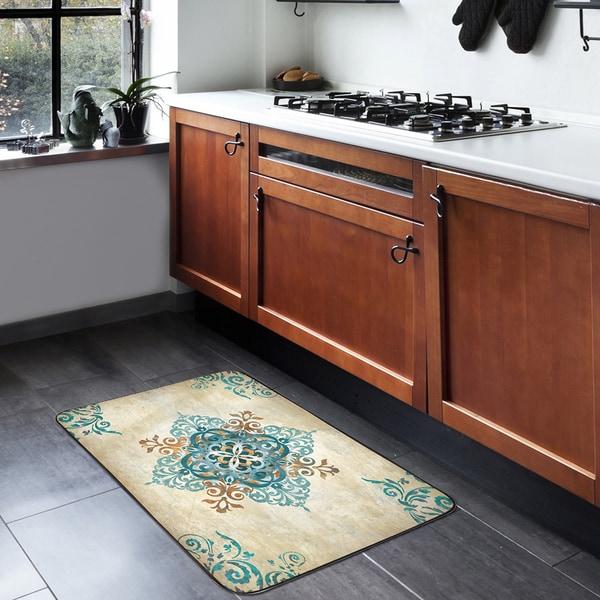 Home Dynamix Designer Chef Collection Anti-Fatigue Blue
