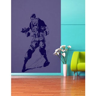 Punisher decal, Punisher Superheroes decal, Superheroes stickers, Superheroes Vinyl Sticker Decal si