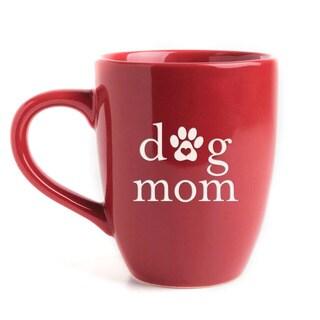 Dog Mom Bistro Mug