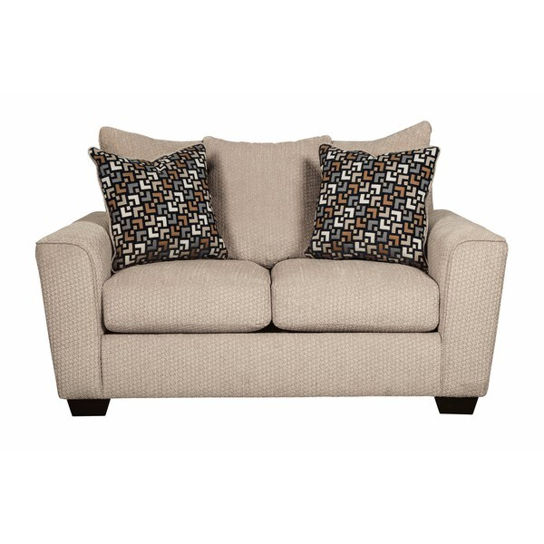 Shop Signature Design By Ashley Wixon Putty Loveseat