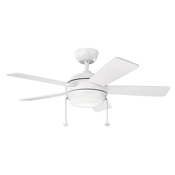 42 White Ceiling Fan With Lights Review Home Co