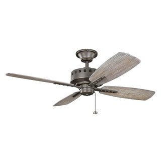 Kichler Lighting Eads Collection 52-inch Olde Bronze Ceiling Fan