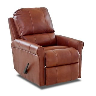 Made to Order Baja Leather Reclining Rocking Chair