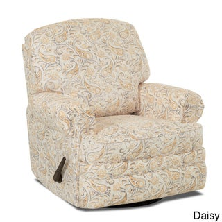 Made to Order Stanford Swivel Gliding Reclining Chair (Option: Joule Daisy)