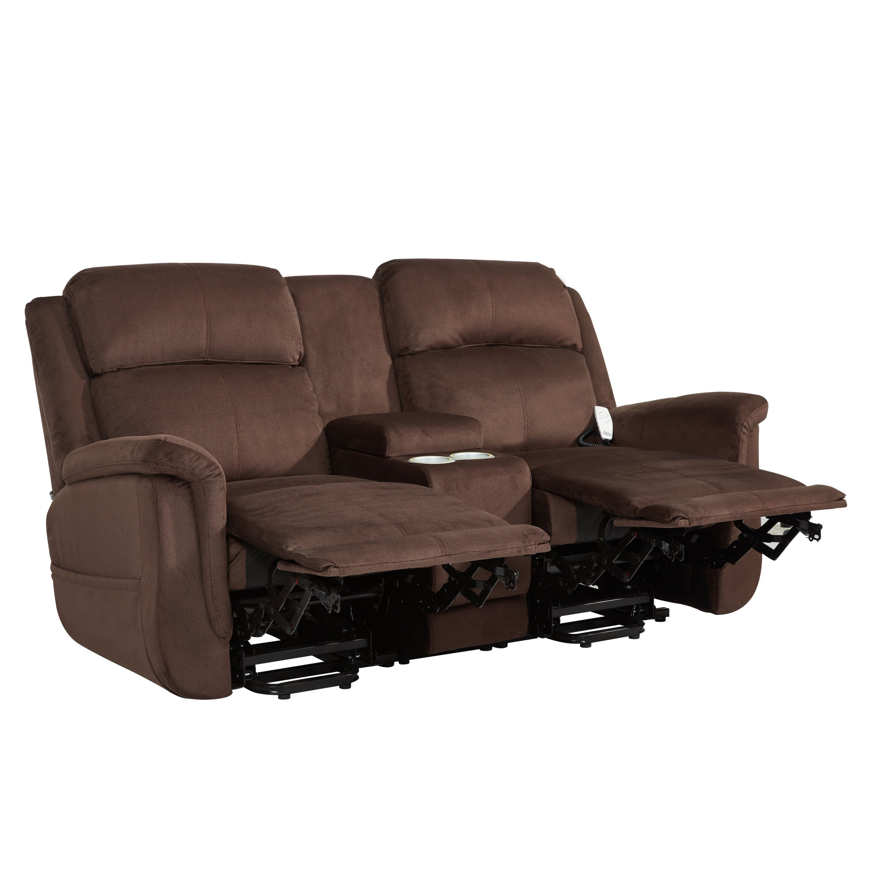 Fantastic Serta Comfort Lift Hamton Dual Power Lift Reclining Loveseat Ocoug Best Dining Table And Chair Ideas Images Ocougorg