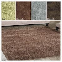 Rug Squared Long Beach LGB01 Shag Area Rug (5' x 7')