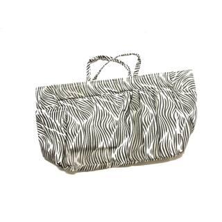 Zebra Plaid Multicolored Nylon Purse Organizer|https://ak1.ostkcdn.com/images/products/13524750/P20205912.jpg?impolicy=medium