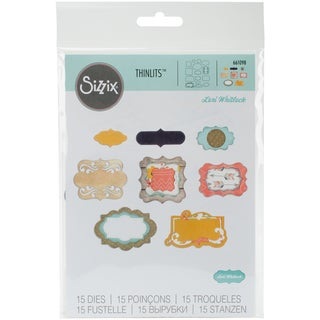 Sizzix Thinlits Dies 15/Pkg-Perfect Labels