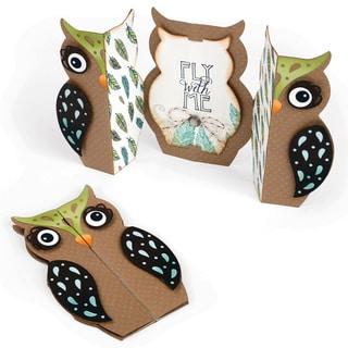 Sizzix Thinlits Dies 6/Pkg-Owl Fold-A-Long Card