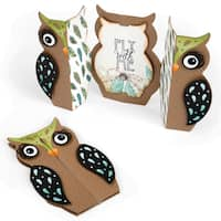 Sizzix Thinlits Dies 6/Pkg-Owl Fold-A-Long Card