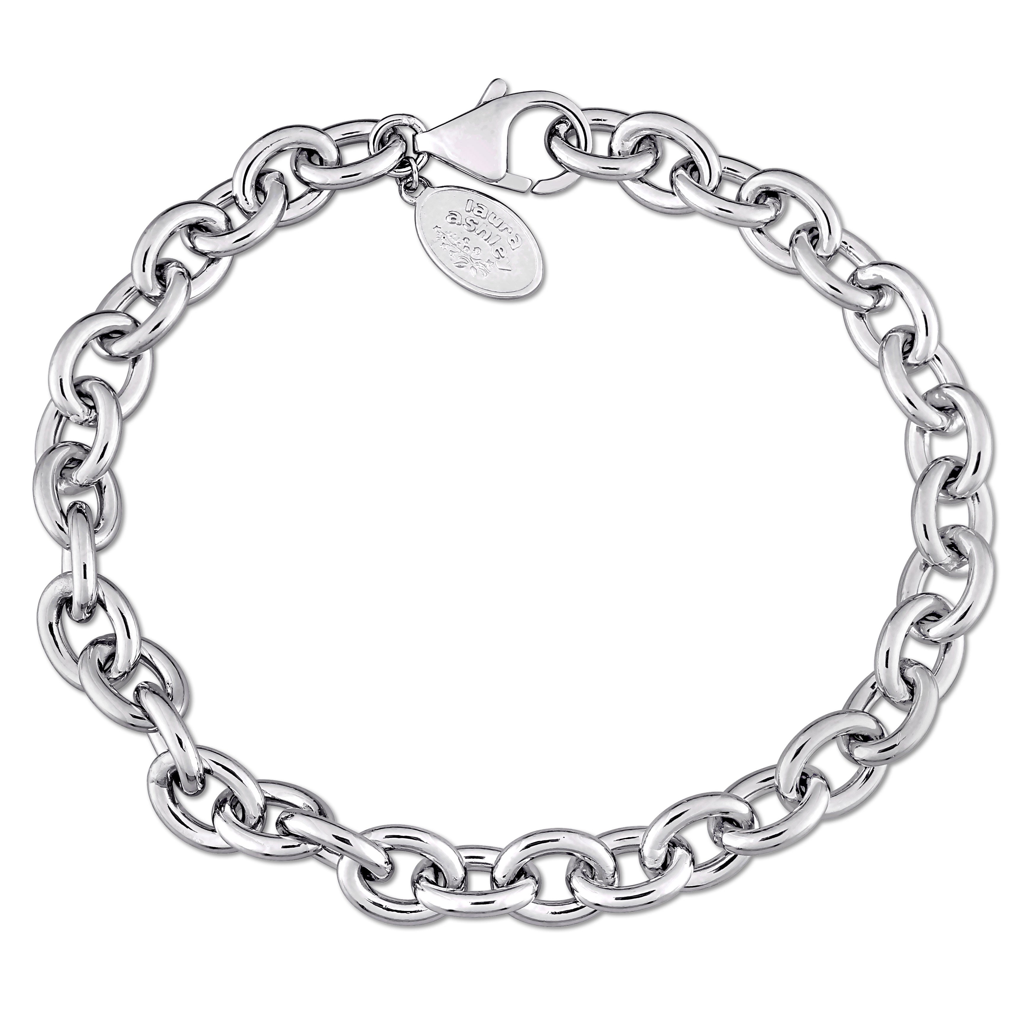 Anklets Jewelry & Watches Platinum Sterling Silver White Sapphire Heart Clover Star Design Ankle Bracelet Refreshment