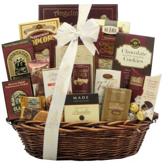 Chocolate Madness Thank You Chocolate Gift Basket