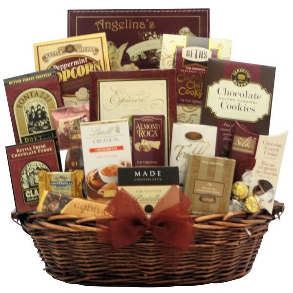 Chocolate Madness Gourmet Chocolate Gift Basket