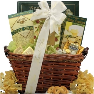 Refined Elegance Gourmet Thank You Gift Basket