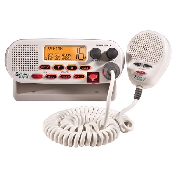 Cobra MR F45-D Affordable Class D Fixed Mount VHF Radio