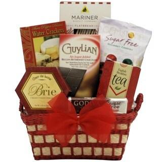 Christmas Joy Sugar-free Holiday Gift Basket