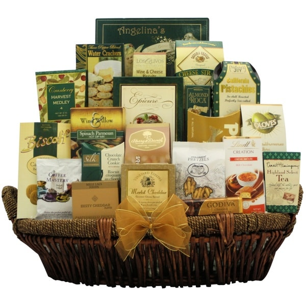 Gallant Holiday Affair Gourmet Holiday Christmas Gift Basket
