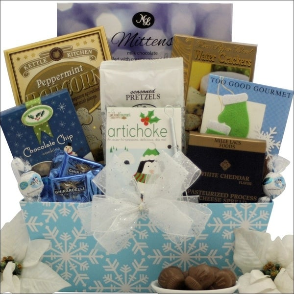 Winter Wonderland Gourmet Holiday Christmas Gift Basket