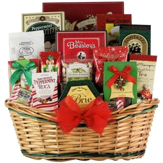 Tidings of Joy: Large Gourmet Holiday Christmas Gift Basket