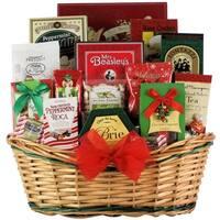 Tidings of Joy: Large Gourmet Holiday Christmas Gift Basket