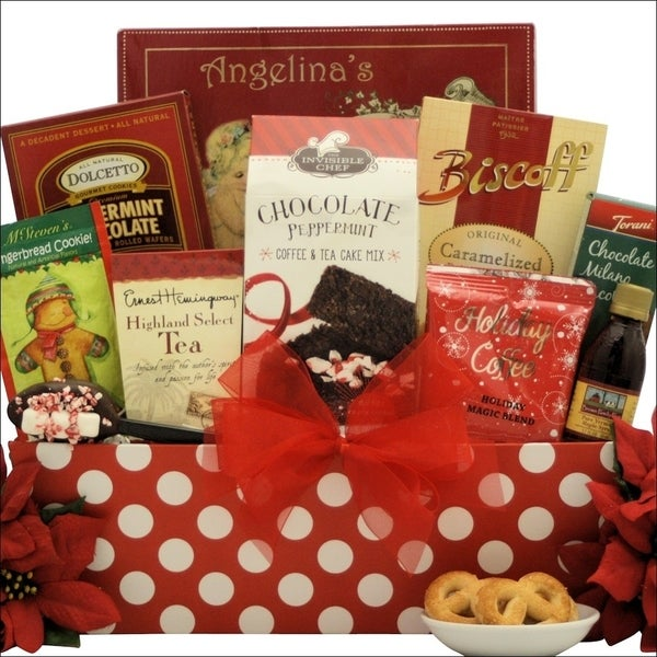 Jolly Christmas Morning Breakfast Holiday Gift Basket