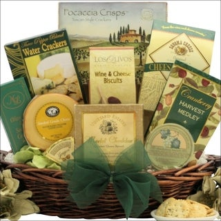 Holiday Cheese Delights: Gourmet Holiday & Christmas Cheese Gift Basket