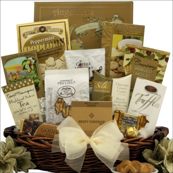 Classic Holiday Elegance Gourmet Holiday Christmas Gift Basket