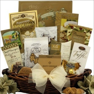 Classic Holiday Elegance Gourmet Holiday Christmas Gift Basket