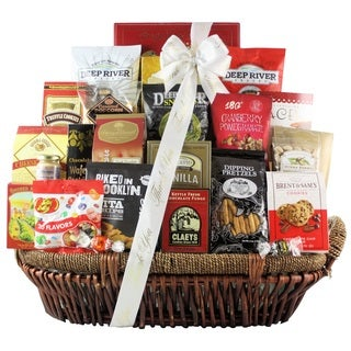 Snack Attack 'Thank You' Extra-large Snack Basket