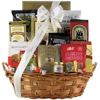 Snack Attack: Large Thank You Snack Basket