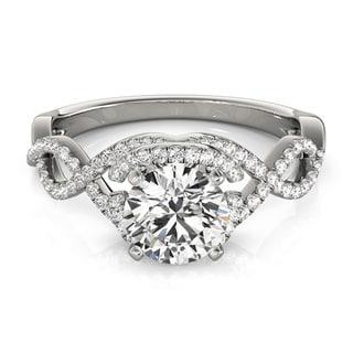 14k White, Yellow, or Rose Gold 3/4ct TDW Diamond Eternity Engangement Ring