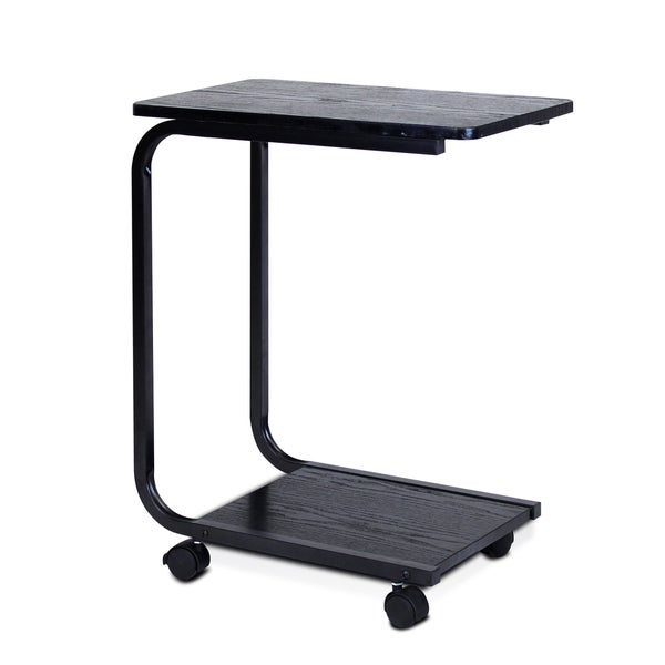 Delightful Furinno Black And White MDF U Shaped Laptop Desk   Free Shipping On Orders  Over $45   Overstock.com   20206332